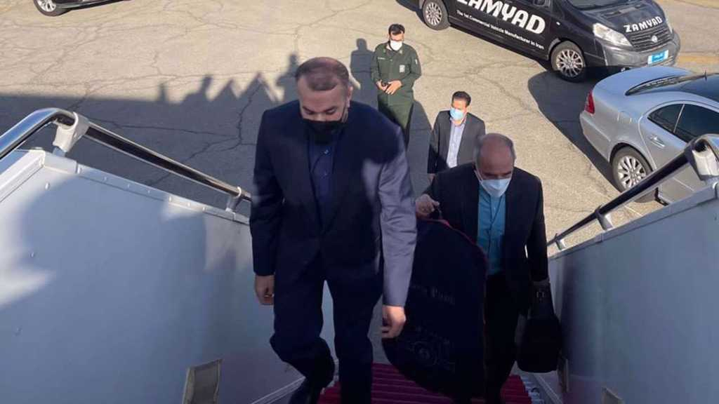 Iran's FM Arrives in Moscow for Talks on Region