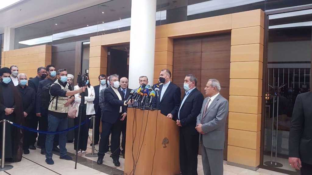 Amir Abdollahian in Beirut: Iran Strongly Backs Lebanese Army, Resistance