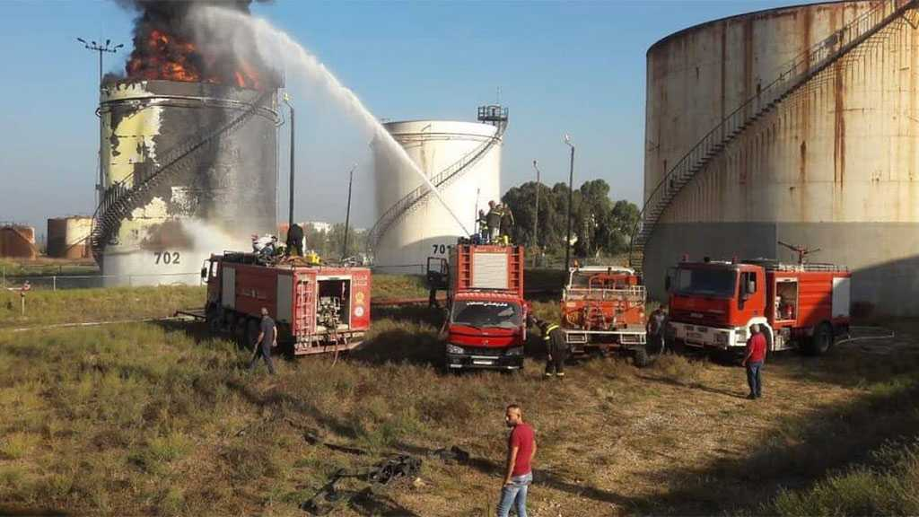 Fire Breaks Out At Zahrani Oil Facility in South Lebanon