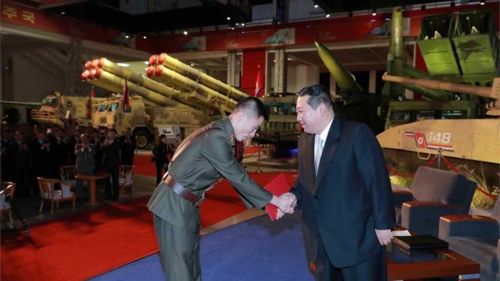 N Korea's Kim: US, S Korea Threaten Peace with Arms Buildup