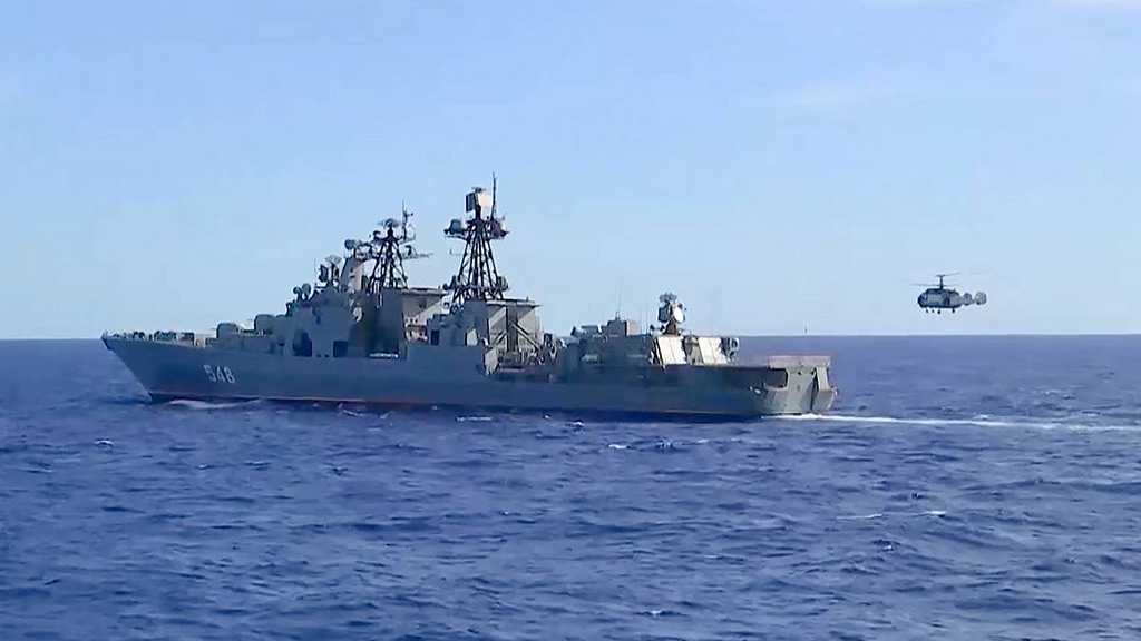 Russia, China Kick Off Joint Naval Drills in Sea of Japan