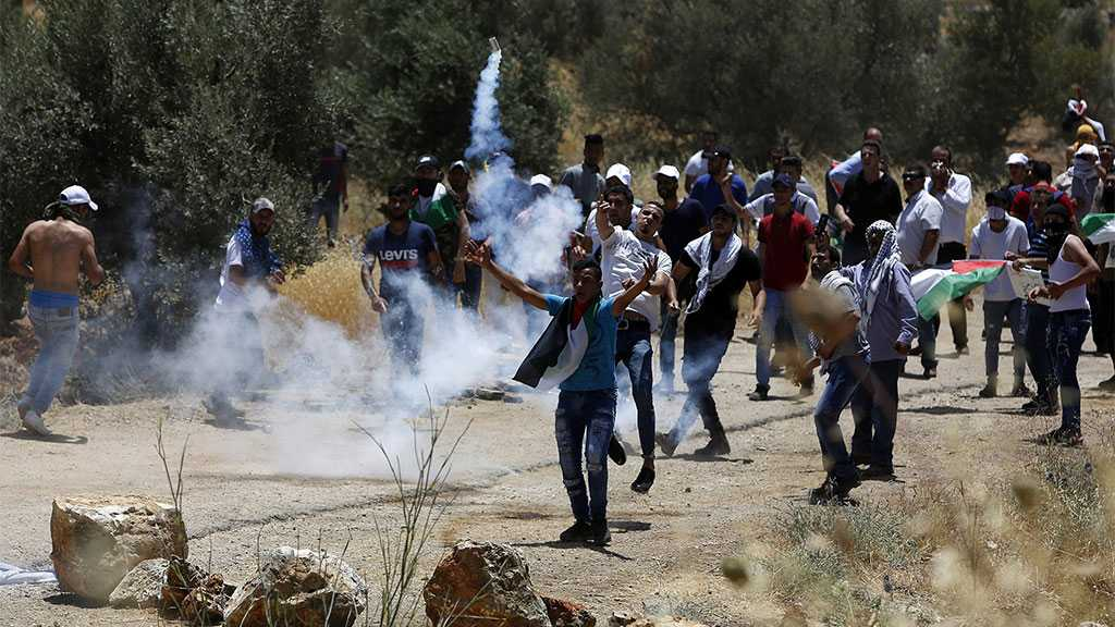 Dozens of Palestinians Injured As 'Israeli' Occupation Forces Attack Anti-settlement Rallies In Nablus