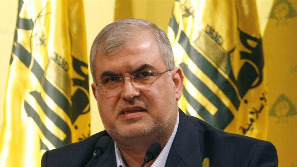 Resistance Bloc MP Raad: Hezbollah Will Not Be Dragged Into Civil War, Nor Will Threaten Civil Peace