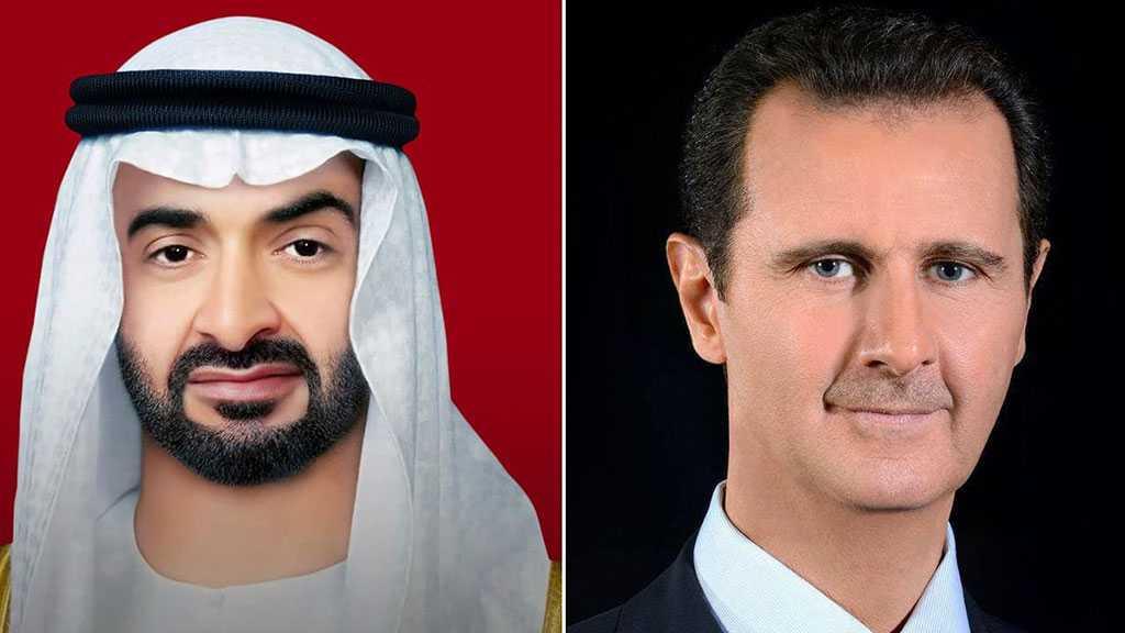 Assad, MBZ Discuss Prospects of Syria-UAE Cooperation