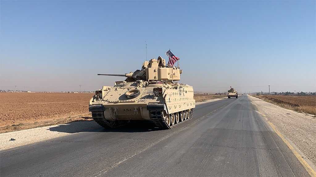 Syrian Army Troops Force US Convoy in Hasakah to Retreat