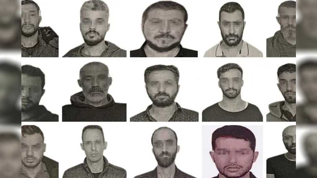 Turkey Reveals Photos of 15 Alleged Mossad Spies Arrested