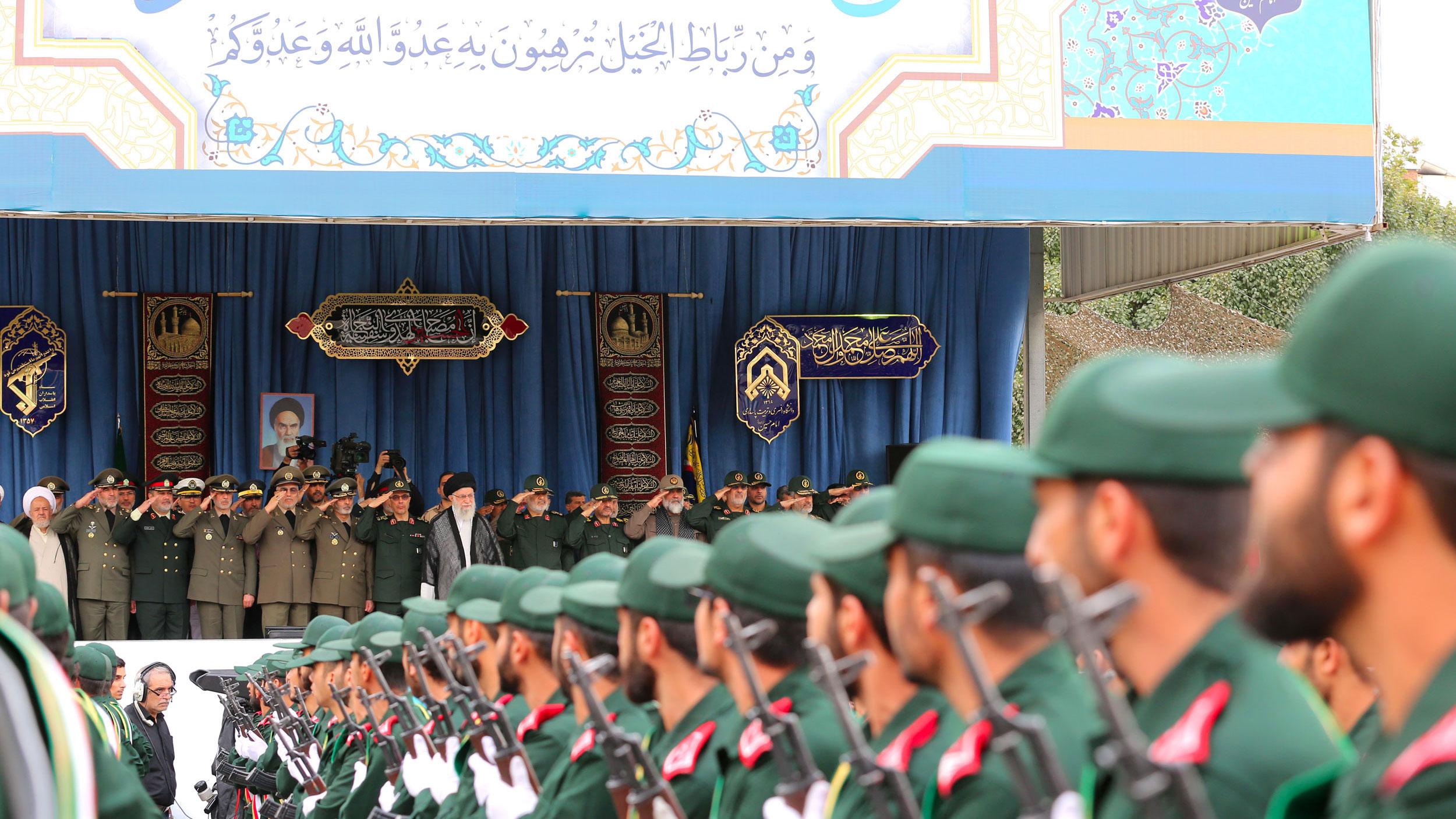 Imam Khamenei Urges IRGC to Prepare against Enemy