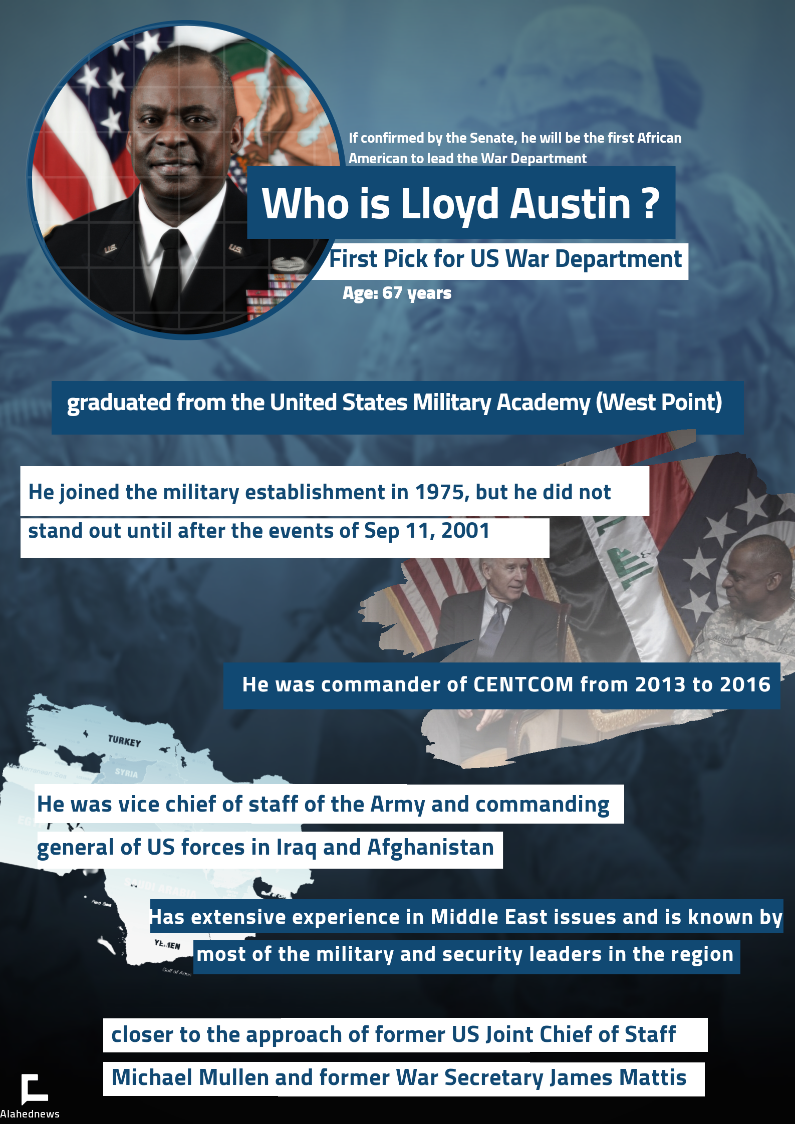 What to Know About Lloyd Austin: Biden's First Pick for US War Department