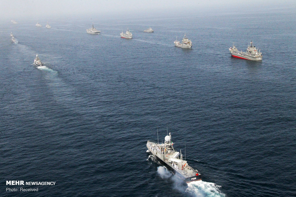 Iran's Navy Drills: Homegrown Cruise Missiles and More [PHOTOS]