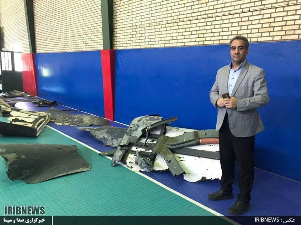 Iranian TV Reveals Photos of the RQ-4 Global Hawk's Remains