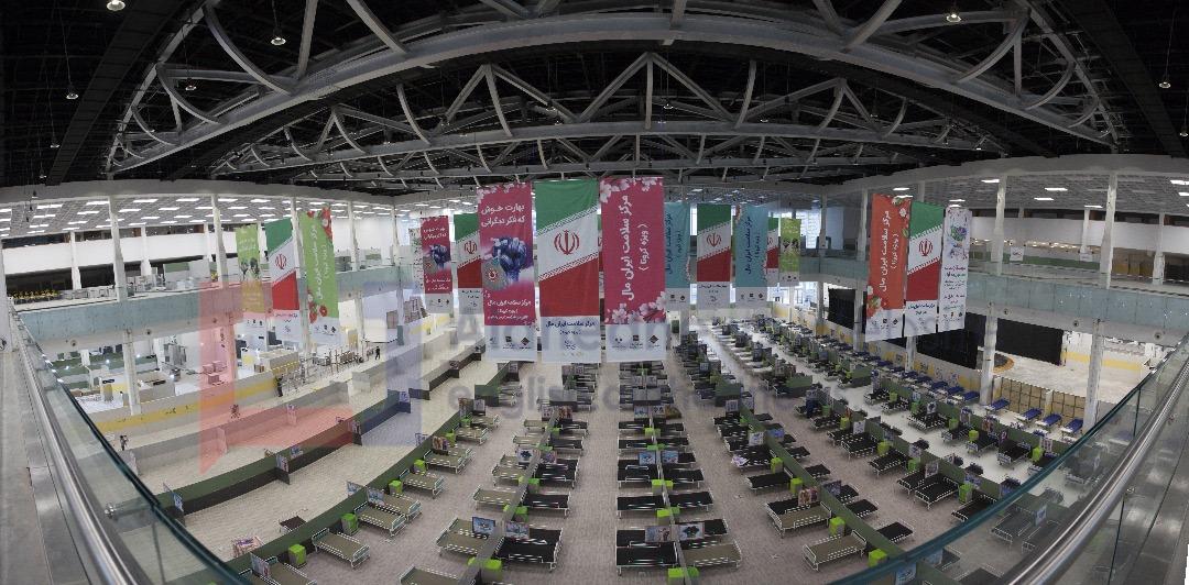Iranian Mega Shopping Center Turned into Coronavirus Hospital [Photos]