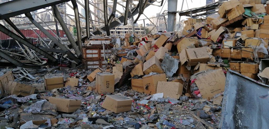 Beirut Port Tragedy in Photos